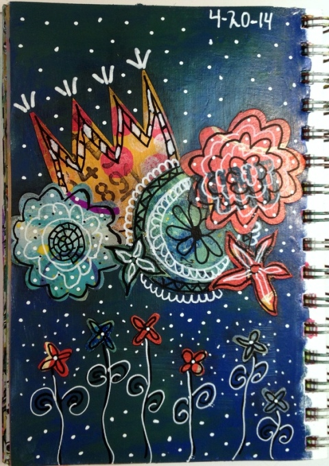 Exploring Art Journaling Day 20