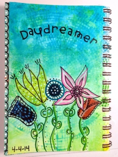 Day 4 of Exploring Art Journaling