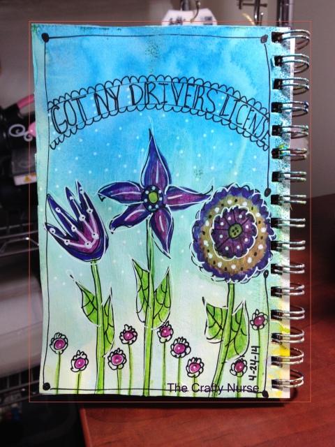 Day 24 - Inktense Pencils