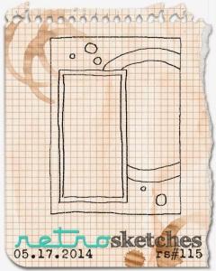 Retro Sketch 115