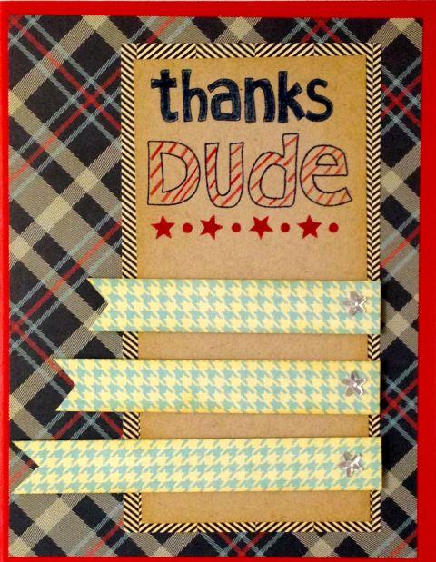 Thanks Dude Card 9