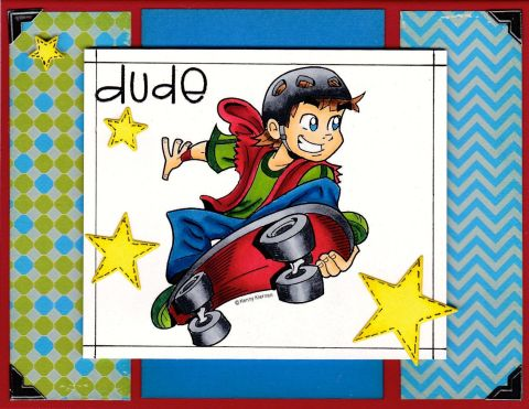 Skateboarding Dude