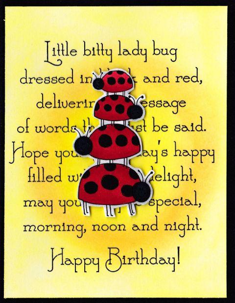 DRS Designs: Ladybug Stackup