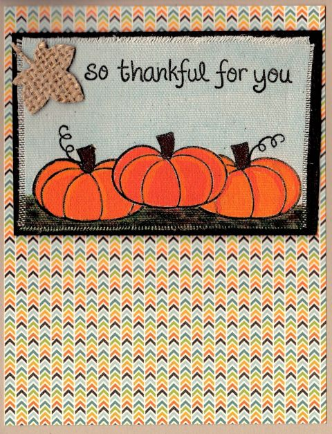 Thankful Pumpkin Lawnfawn