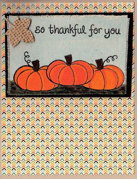 Thankful Pumpkin Lawnfawn