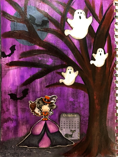 Art Journal Halloween 1