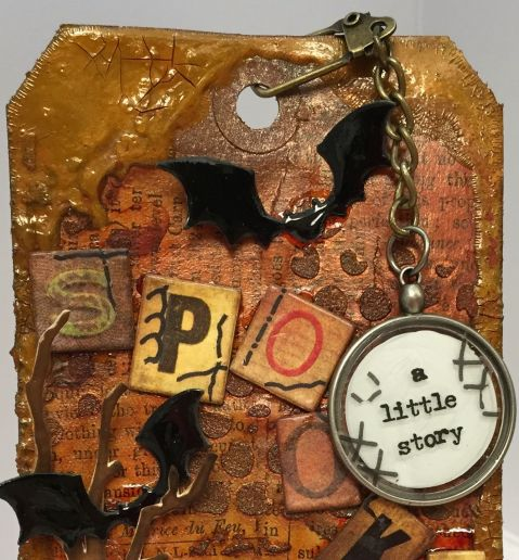 October Tim HOltz Tag 2