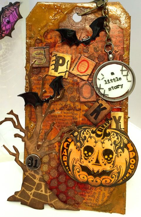 October Tim Holtz Tag Full