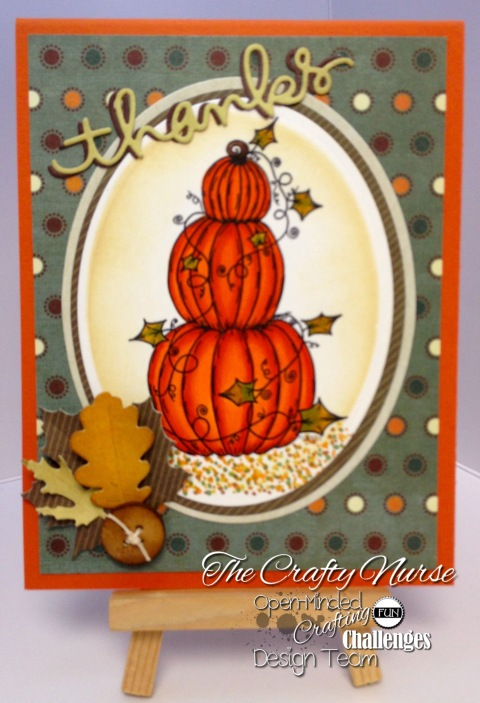 OakPond - Digital Stamp Pumpkins