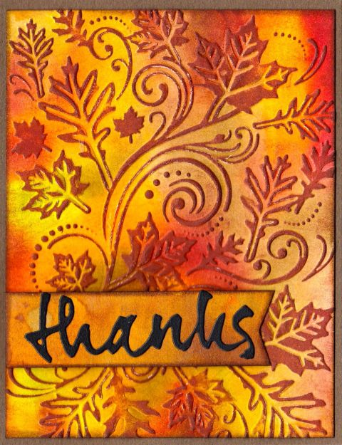 Embossed Stains Oct:Nov 2014
