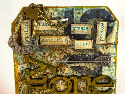 January Tim HOltz TAg 2015 - Close