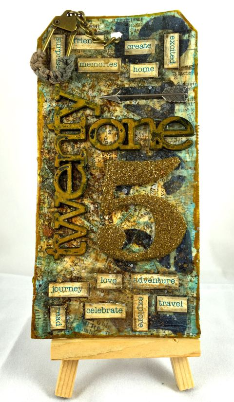January Tim HOltz TAg