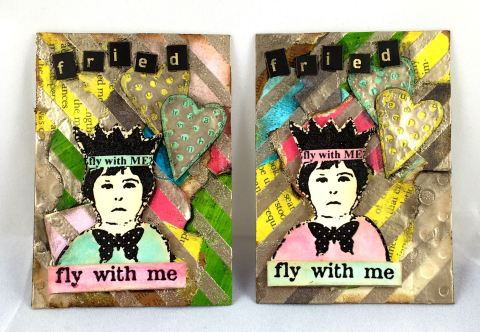ATC Cards for Mixed Media Mojo