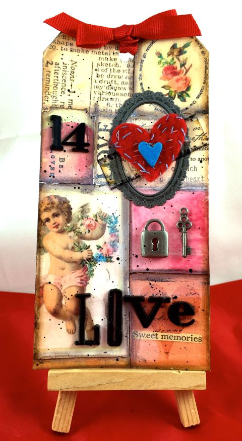 February Tim Holtz Tag 2
