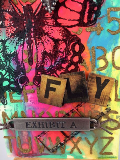 March Tim HOltz Close up2