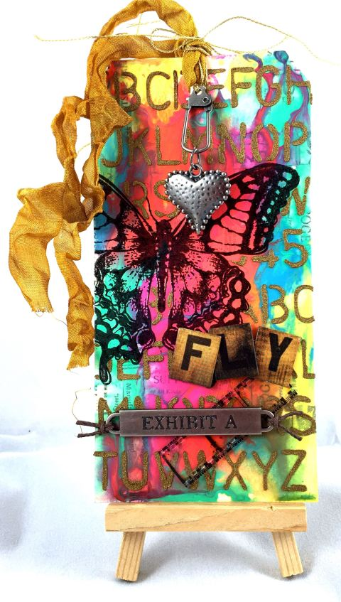 March Tim Holtz Tag
