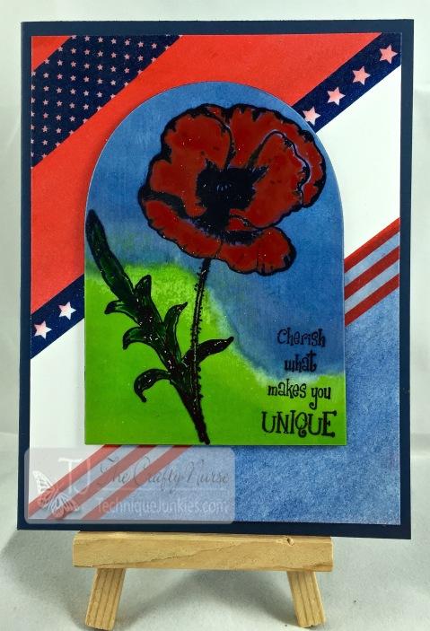 Memorial Day Poppy-Scene Sillouette-wm