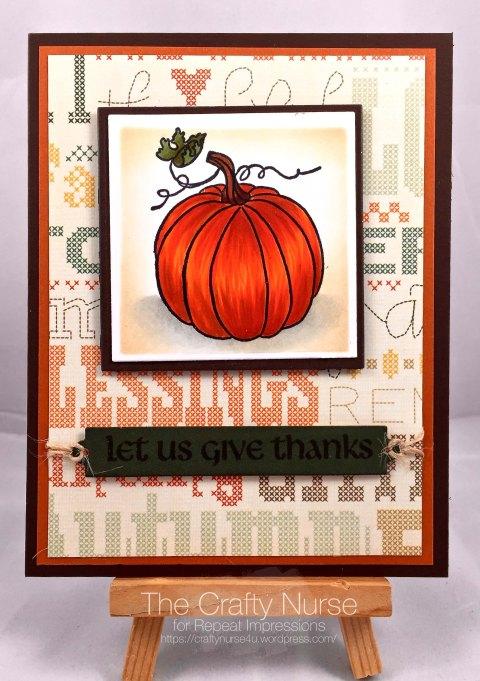 October Pumpkin DCC -wm