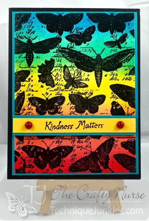 March-Rainbow Butterflies